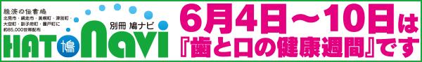 別冊鳩Navi「歯と口の健康週間」【北見・網走・日刊フリーペーパー経済の伝書鳩】