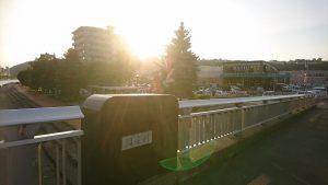 午後5時 中央橋