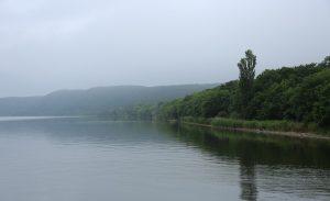 午前7時 網走湖