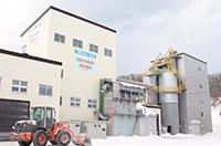 稼働1年目の常呂町産業振興公社の新工場