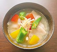夏野菜とん汁