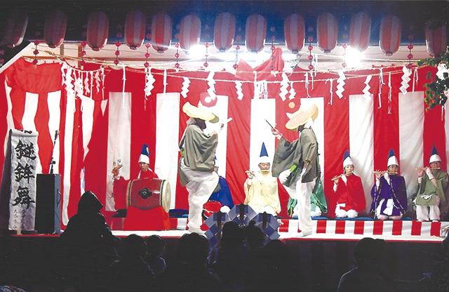 作品名『豊郷神楽』網走市・一市民 明治から続く伝統芸能で、素朴な踊りの中に当時の苦しい生活がしのばれます(網走市豊郷にて8月1日撮影)。