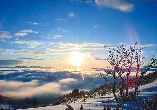 作品名『雲海から昇る初日の出』網走市・男性 平成31年1月1日午前7時25分、美幌峠頂上付近で撮影。感動でした。今年はいい1年になりそうです。