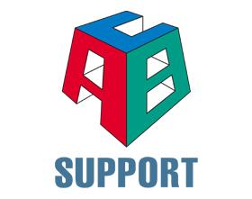 【北海道北見市 ABC Support パーソナルトレーニング&コンディショニングスタジオ 亜細亜整体 キネシオテーピング】ロゴ
