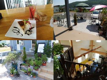 お店の様子【北海道北見市 サンセットテラス花薄荷 喫茶店、ハーブ、カフェ、レストラン】