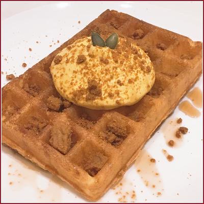 【北海道北見市|北海道ベイク|Do Waffle!|ベルギーワッフル|カフェラテ|移動販売|テイクアウト】限定・あきいも