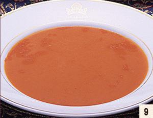 【北海道北見市 クリシュナ インド料理、カレー、タンドリーチキン、ナン、ラッシー】トマトスープ