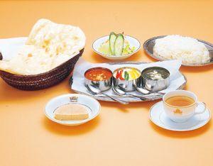 【北海道北見市|クリシュナ|インド料理、カレー、タンドリーチキン、ナン、ラッシー】マハラジャ7点セット