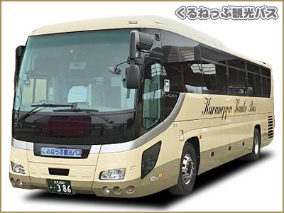【北海道訓子府町 くるねっぷ観光バス 山田産業 大型バス・中型バス・小型バス・ハイエース・ハイヤー 団体・観光貸切バスのことなら】車両紹介/中型バス