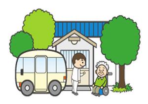 【北海道北見市 株式会社ウェルグ 訪問介護もあ デイサービスあさひ 北海道知事指定 訪問看護・訪問介護・居宅介護・通所介護・介護予防通所介護 総合的な在宅支援】イラスト