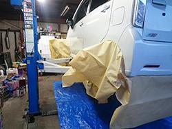 【北海道北見市 R-TYPE(アールタイプ) 自動車、整備、車検、中古車、販売、カー用品、中古部品、自動車保険】ノックスドール施工中