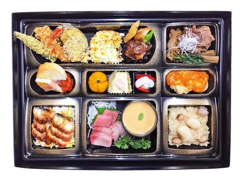 【北海道常呂郡訓子府町 さんじん 仕出し・弁当製造販売・法要・会合 地元の「食財」を使ったこだわりの品をお届けします】偲びの膳